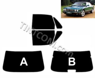 Pre Cut Window Tint - Jaguar XJ (4 doors, saloon, 1998 - 2002) Solar Gard - Supreme series